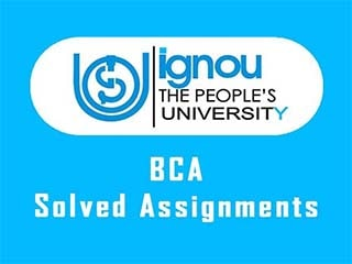 IGNOU BCA Solved Assignments Free Download