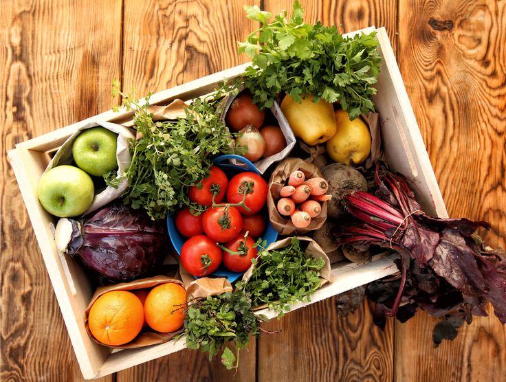 Cabaz de agricultura biológica