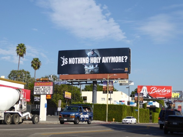 Knightfall series teaser billboard