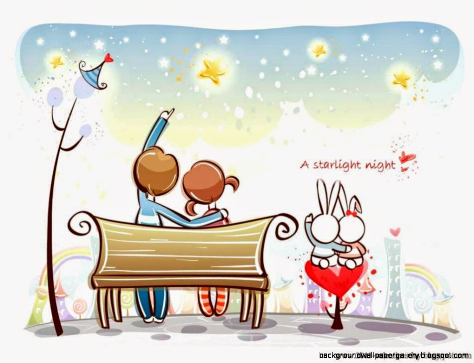 Cute love cartoon hd wallpaper desktop background - Love cartoon hd ...