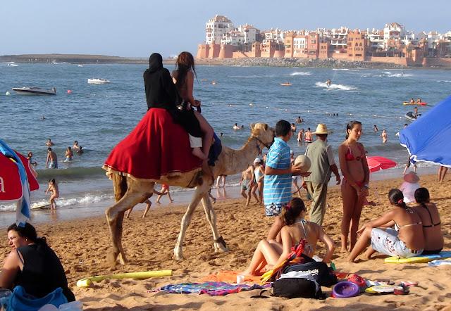 Gdzie w Maroku możesz się opalać i kąpać w bikini