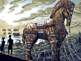 Троянский конь легенда