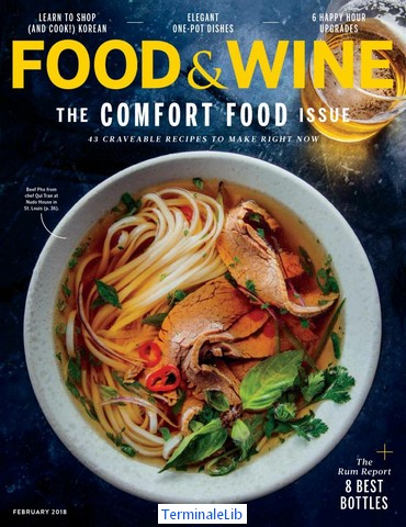 Food wine magazine february 2018 pdf free download food wine magazine february 2018 forumfinder Choice Image
