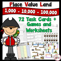Place Value Land for thousands place