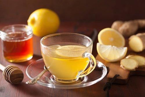 Thé de citron et de gingembre