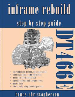 DT466E Inframe Rebuild book cover