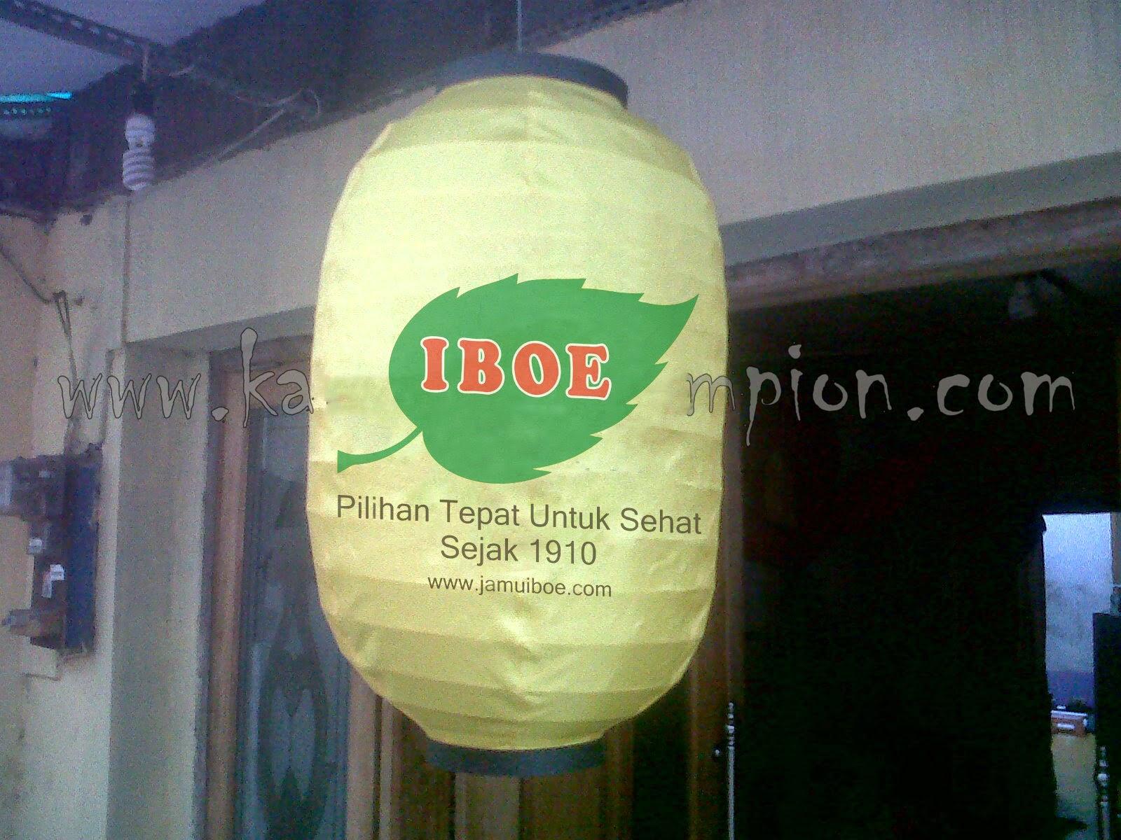 180 buah LAMPION Kapsul untuk Jamu IBOE Jaya