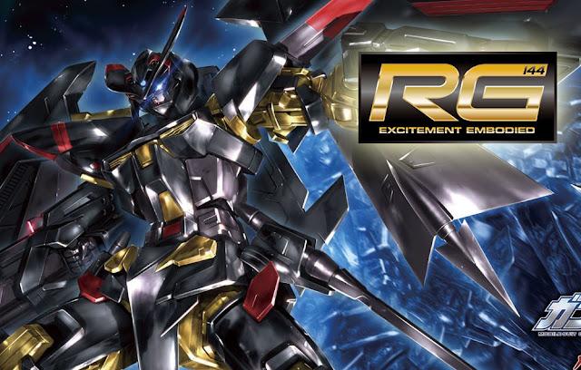RG 1/144 MBF-P01-Re2 Gundam Astray Gold Frame Amatsu Mina - Release Info