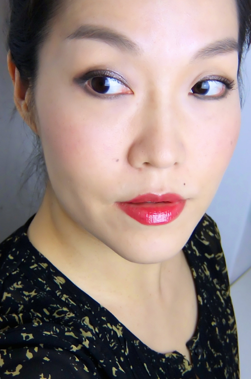 Chanel Rouge Allure Extrait De Gloss Emoi FOTD