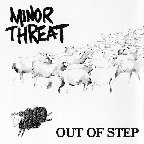 Minor Threat Out of Step EP cover