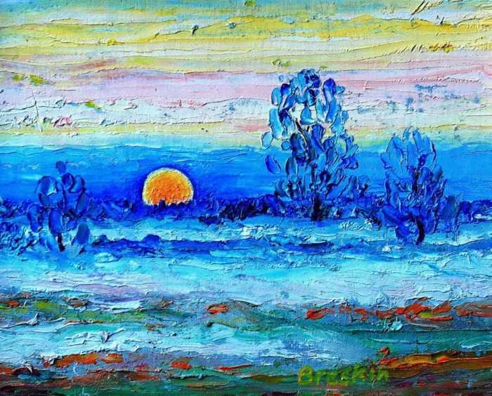 Украинский художник. Александр Брескин