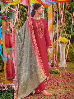Varsha Bandhej traditional salwar kameez | Indian Ethnic wear | Wedding Suits