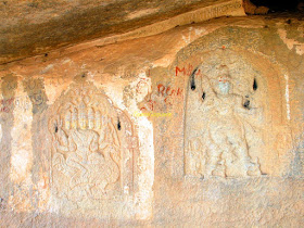 Cave Carving, Nijagal Fort
