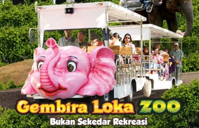 Gembira Loka Zoo salah satu 7 Taman Wisata Terbaik Di Indonesia Yang Bisa Anda Kunjungi Bersama Keluarga.