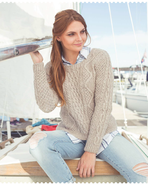 Charlestown Pullover