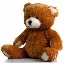 Foto de un oso de peluche