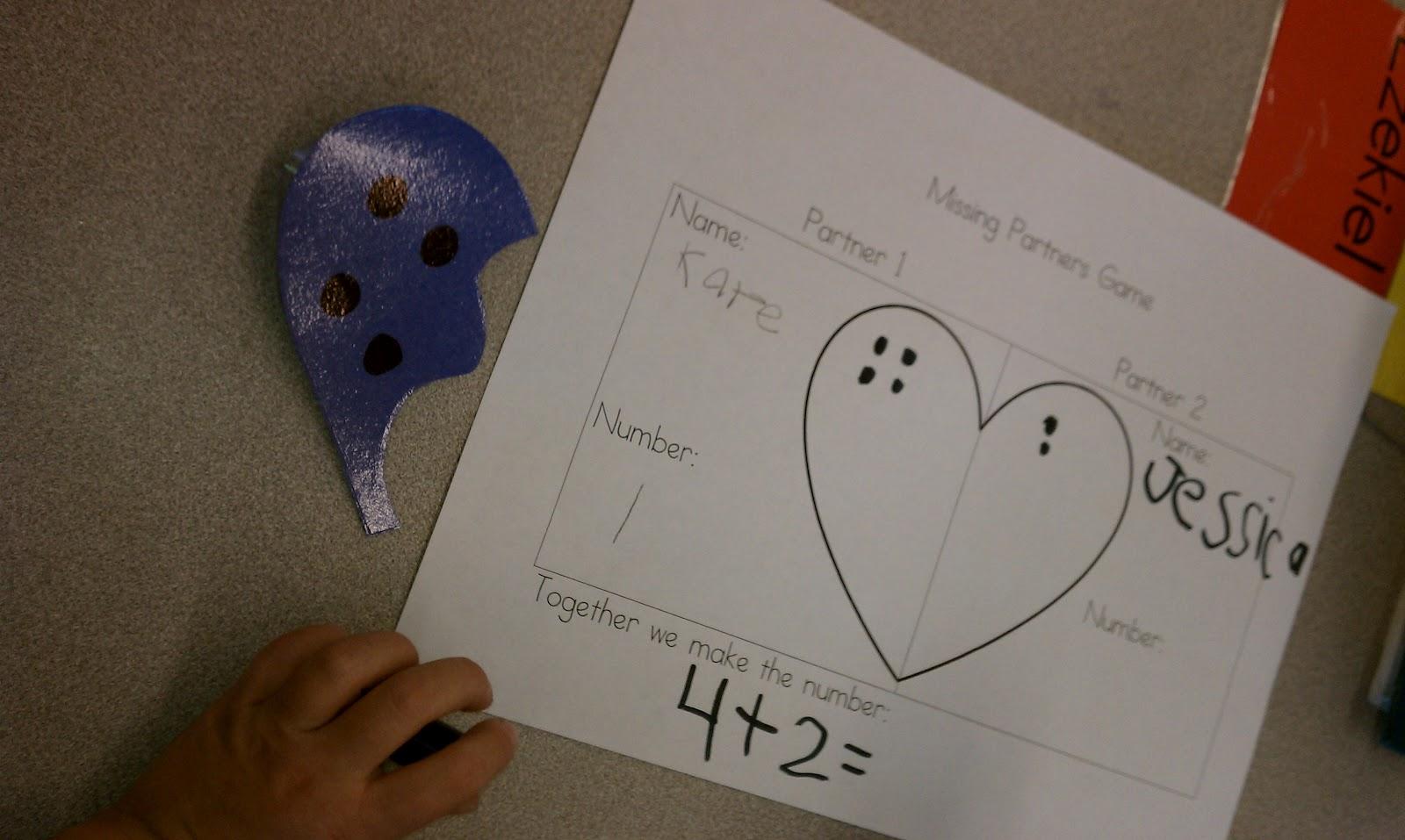 Little Learning Wonders Number Partner Hearts