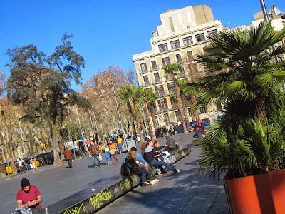 Plaça Universitat in Barcelona