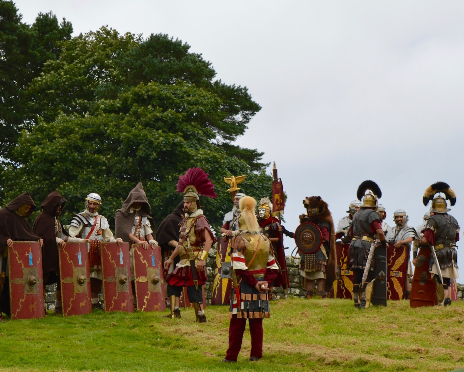 Hadrian's Wall Live 2016 | Birdoswald Roman Fort & Housesteads - A Review