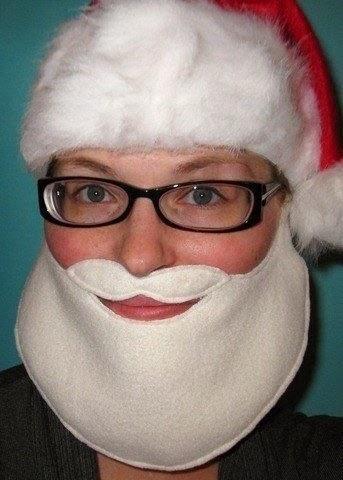 Как сшить маску дед Мороза?