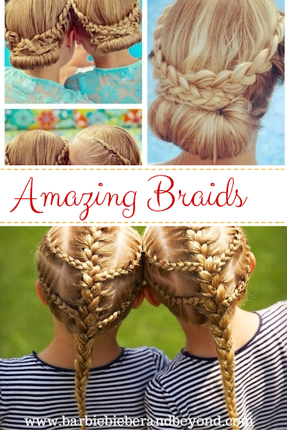 amazing braid hairstyles - barbie