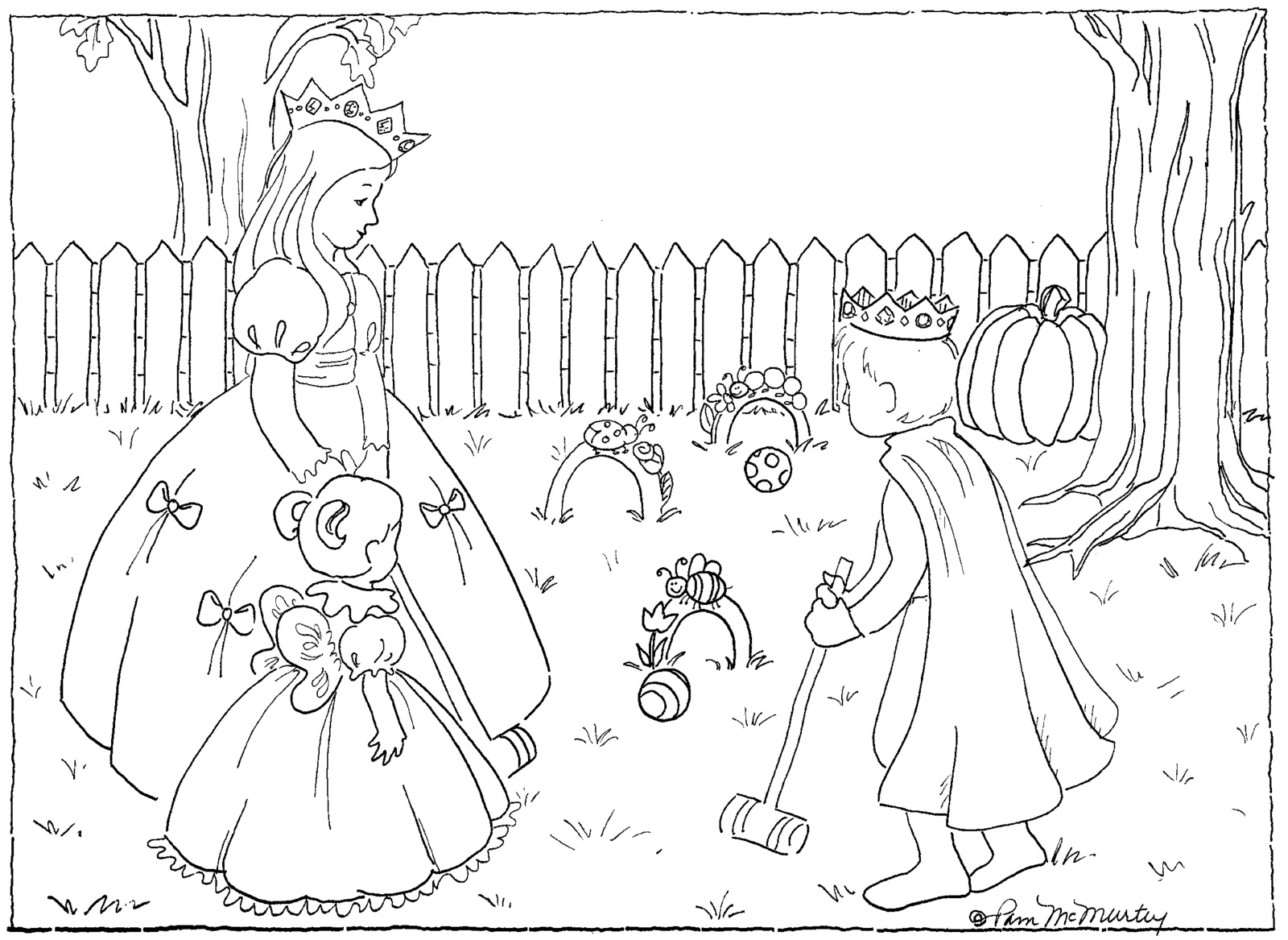 Free coloring pages of faithful