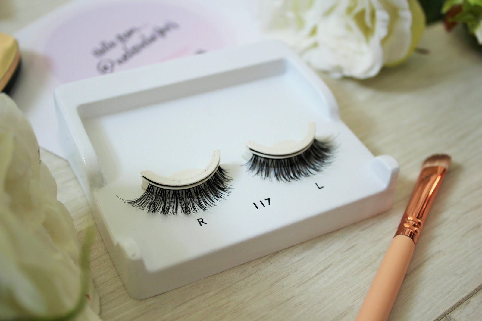Eylure lashes from falseeyelashes.co.uk - 4 - Pre-glued Texture Lashes in 117