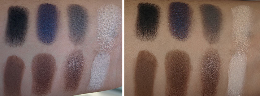 sigma defining eyes palette by tiffany d swatches