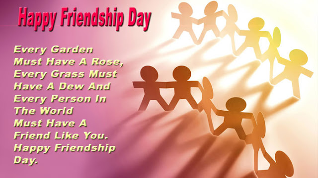 Facebook friendship day messages