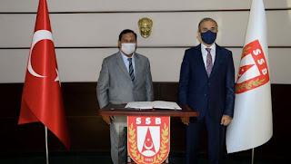 Menteri Pertahanan Kunjungi Turki
