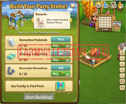 Party Stable