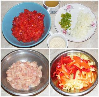 retete cu pui, retete cu legume, preparate din pui, preparate din legume, retete culinare, mancaruri cu carne si legume, preparare retete,