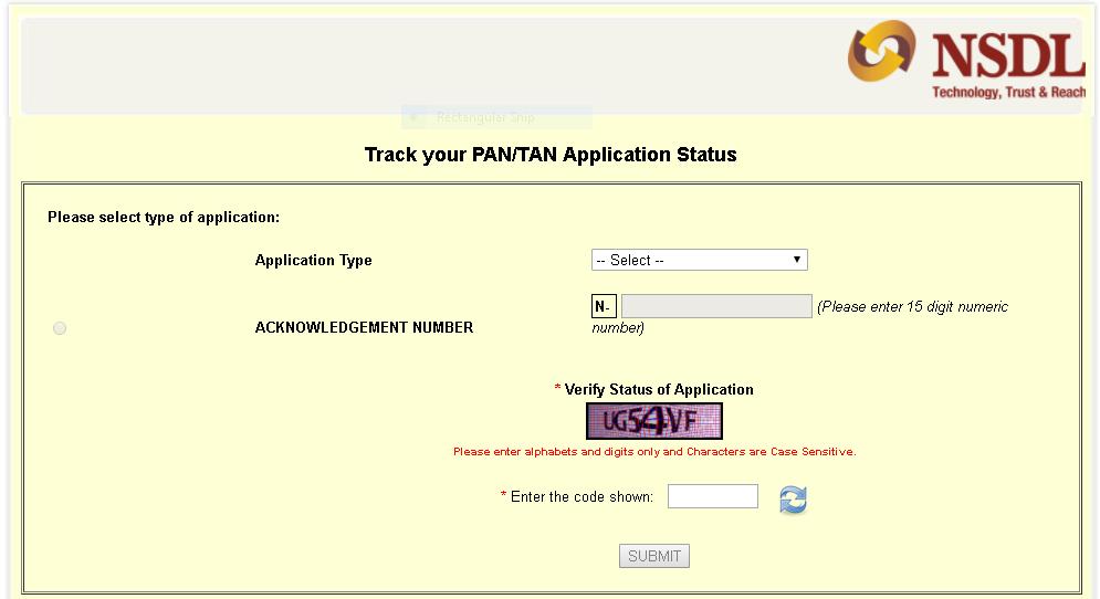 Nsdl Pan Status