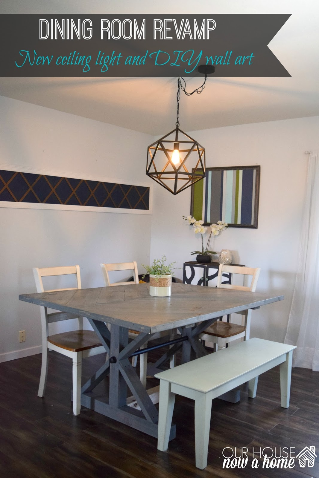 Dining Room Revamp O Our House Now A Home