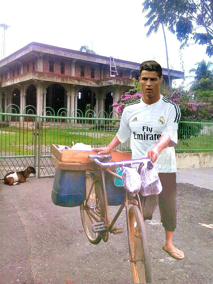 HANA NAN Foto Lucu Ronaldo Editan 2016