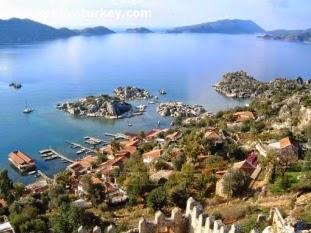Üçağız Köyü Kekova