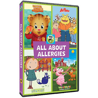 PBS Kids, Peg + Cat, Arthur, Daniel Tiger's Neighborhood, food allergies, food allergy awareness
