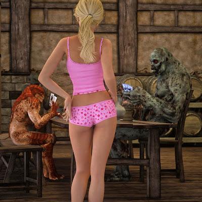 AnhSex.In - Ván bài cùng ác quỹ, ảnh sex 3D