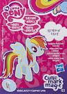 My Little Pony Wave 12 Rainbow Dash Blind Bag Card