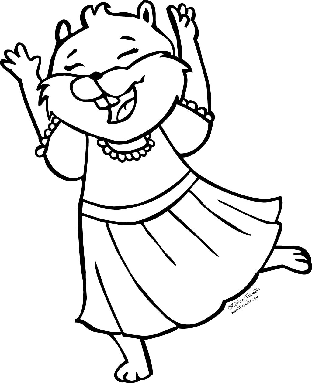 A picture paints a thousand words: FREE Coloring Page