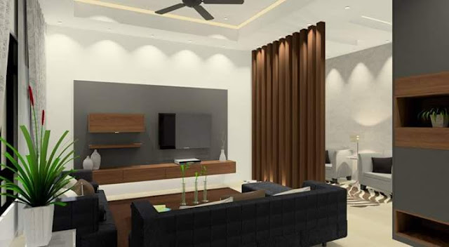 Living Room Design - Meridian Interior Design