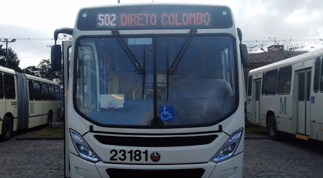 Colombo tem nova linha de ônibus que faz ligação direta com Curitba