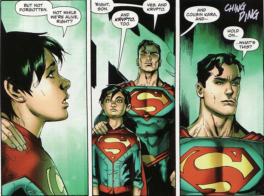 Super Comic Box Commentary: Review: Superman #40 on