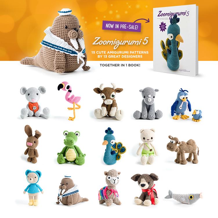 Zoomigurumi 5 collection of crochet animals now in presale