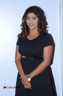 Tollywood Actress Geethanjali Thasya Latest Pos in Black Short Dress at Nanna Nenu Na Boyfriends Audio Launch  0003.JPG