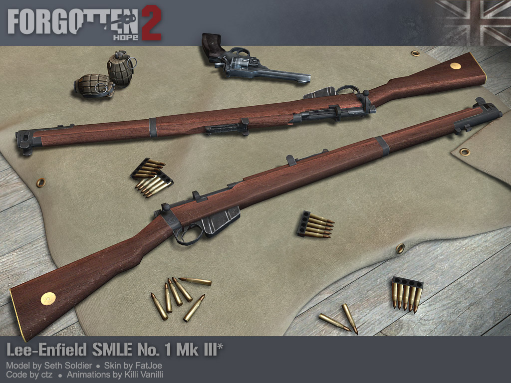 Deadly Lee-Enfield SMLE | Army and Weapons