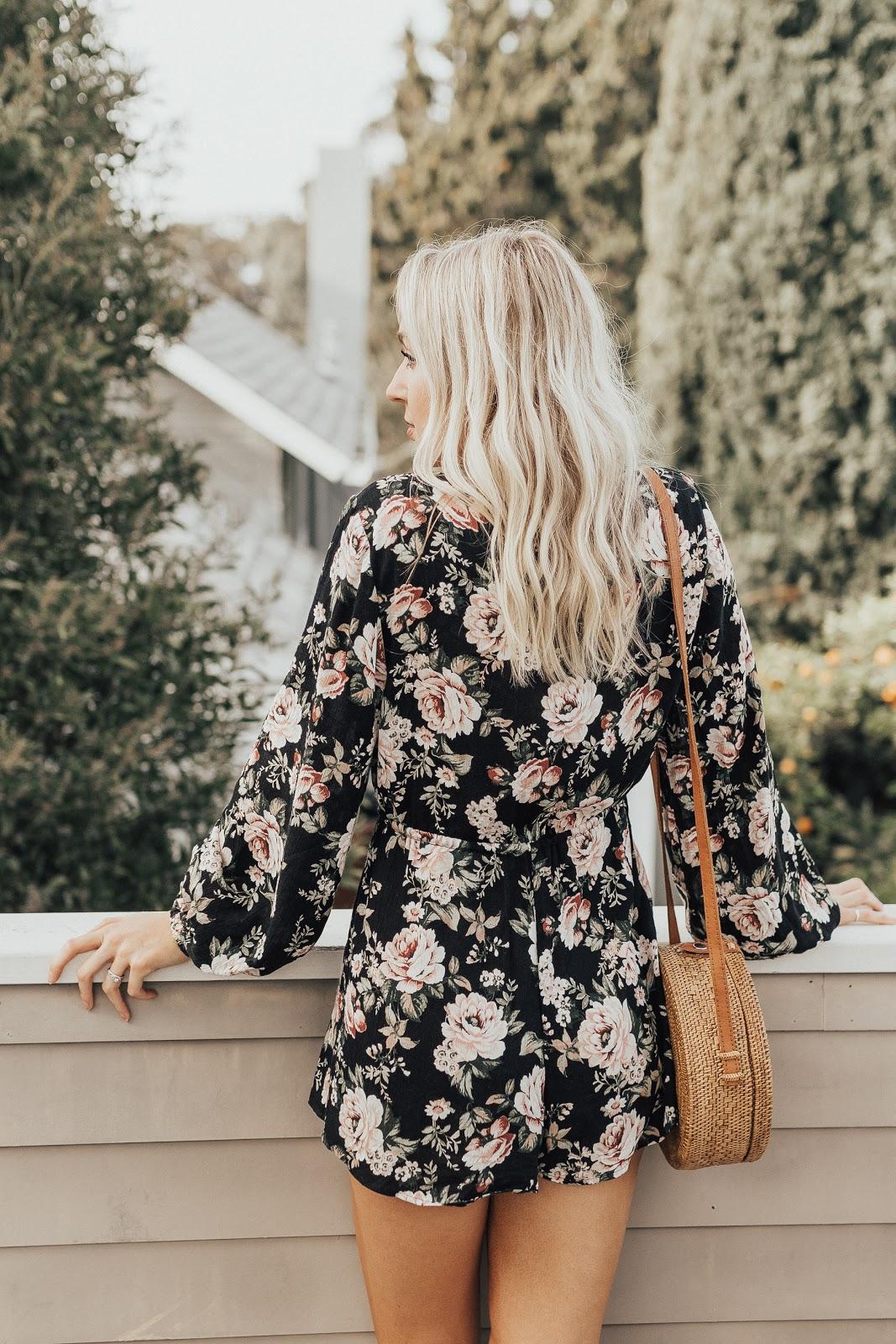 floral romper | Love, Lenore