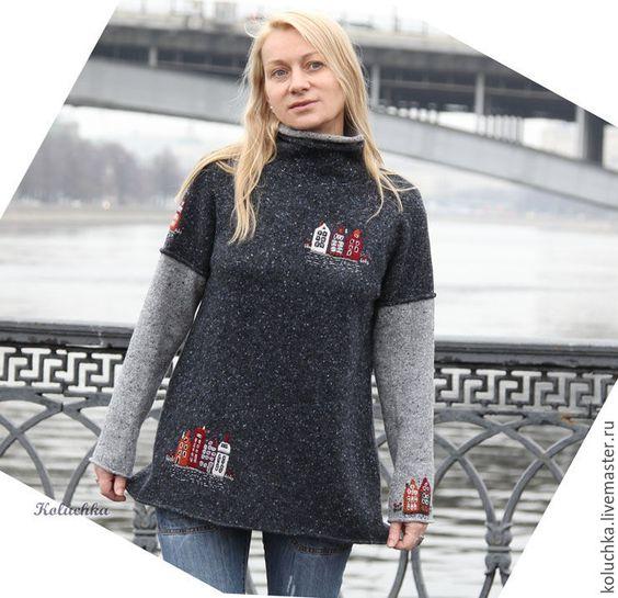 swetry z aplikacjami