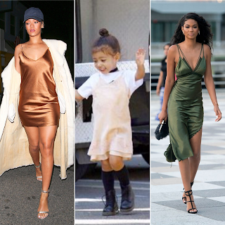 Slip Dress Trend Rihanna North West