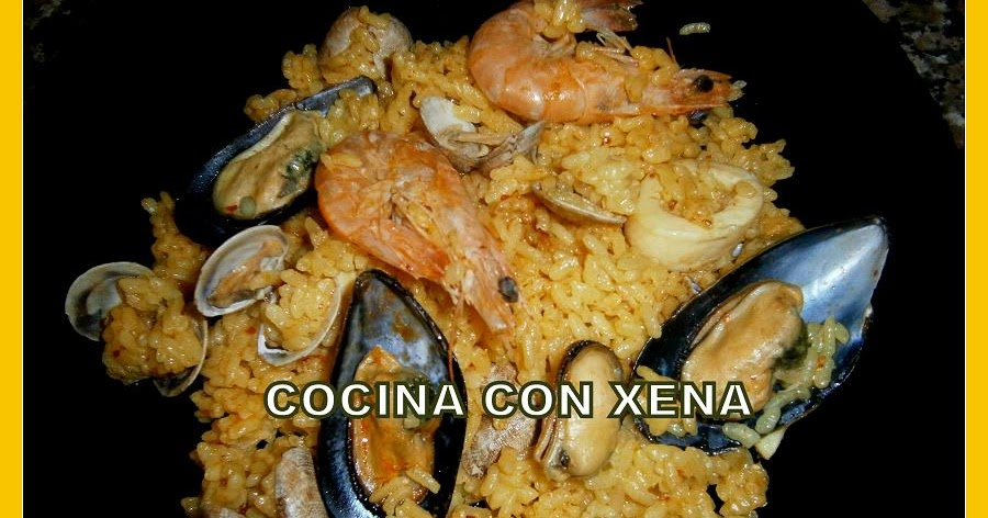 Cocina con xena arroz de marisco en olla gm d for Cocina con xena olla gm d